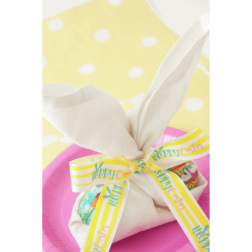 Hoppy Easter Ribbon - 25mm ( Sold Per Metre)