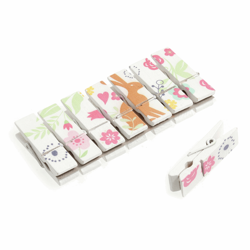 Pegs: Rabbit: Pack of 8