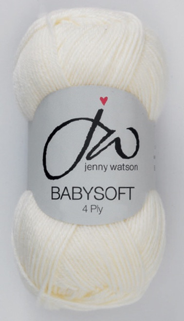 Cream Babysoft Luxury 4ply (50g)