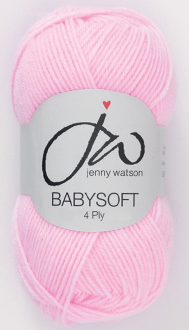 Pink Babysoft Luxury 4ply (50g)