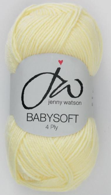 Yellow Babysoft Luxury 4ply (50g)
