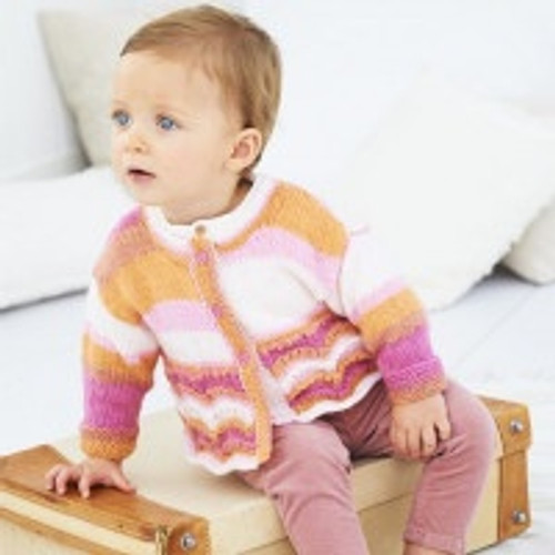 9636 Cardigan & Jumper 6 Months-7 Years Baby/Kids Stylecraft Pattern