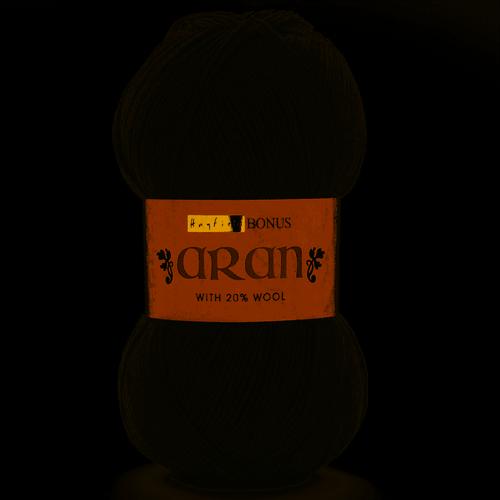 Bonus Aran with Wool-Celtic Grey F119-0997 ( 400g)