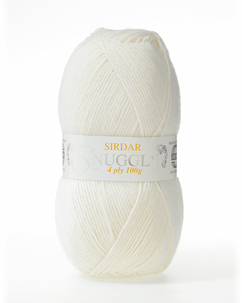 Snuggly 4 Ply-Cream ( 50grm Ball)