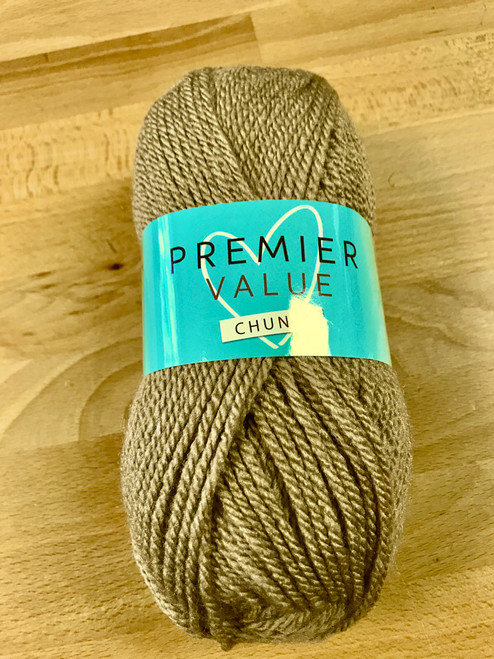 Pebble Beige Chunky Yarn  by King Cole (100g)