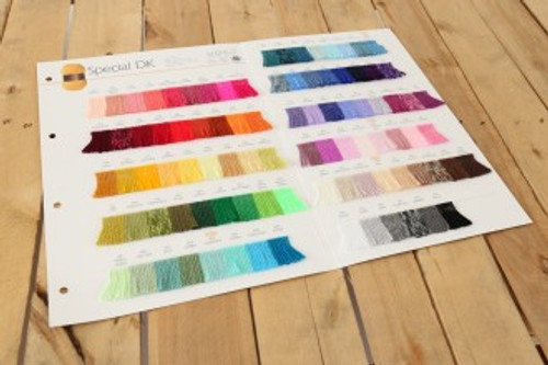 Stylecraft Special DK Shade Card - Sold individual
