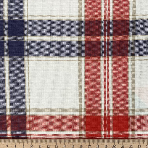 Southwold Nautical - 100% Cotton Canvas weight fabric  - 140cm wide, Sold Per Half Metre