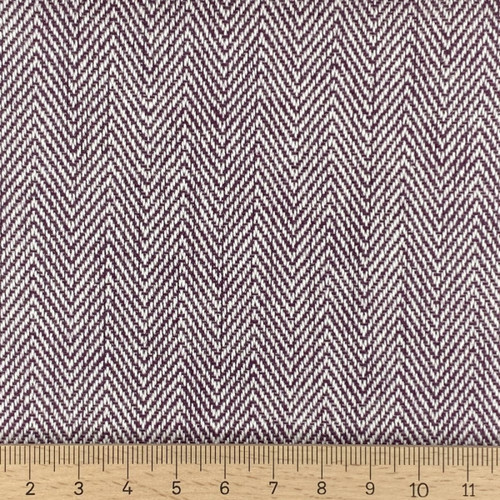 Penzance Mulberry -  100% Cotton Canvas weight fabric - 140cm wide, Sold Per Half Metre