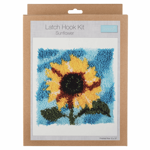 Latch Hook Kit: Sunflower