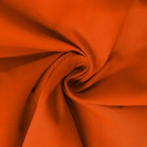 "Copper Dress Polycotton Poplin Fabric - 45in wide , Sold Per Half Metre"""