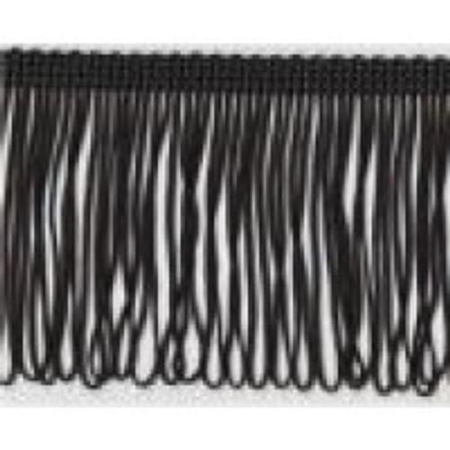 Loop Fringe 100mm - Black ( Sold By The Metre)