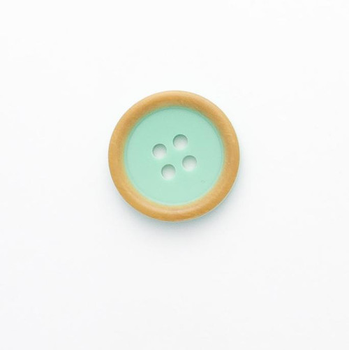 Mint 4 Hole Button Size - 20mm (Sold Single)