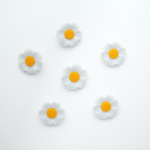 Large Daisy Shank Button -  21mm Nylon ( Sold individually )