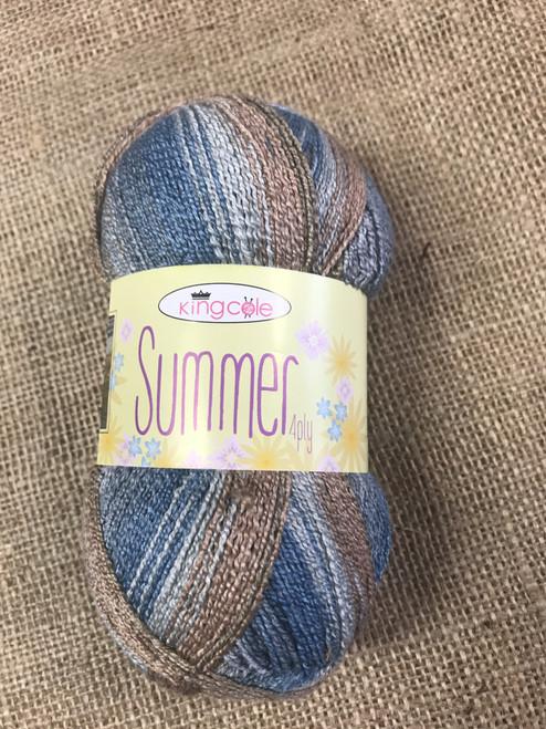Crystal - Summer 4Ply Bamboo/Cotton & PBT (100g)