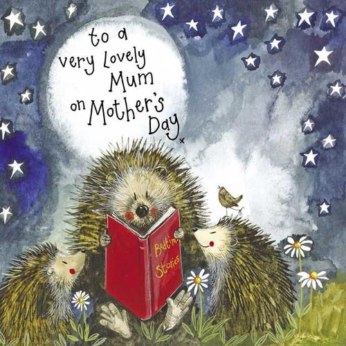 Starlight Storytime Hedgehogs Birthday Card