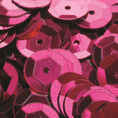 Cerise 6mm Cup Sequins (Pack of 500 approx)