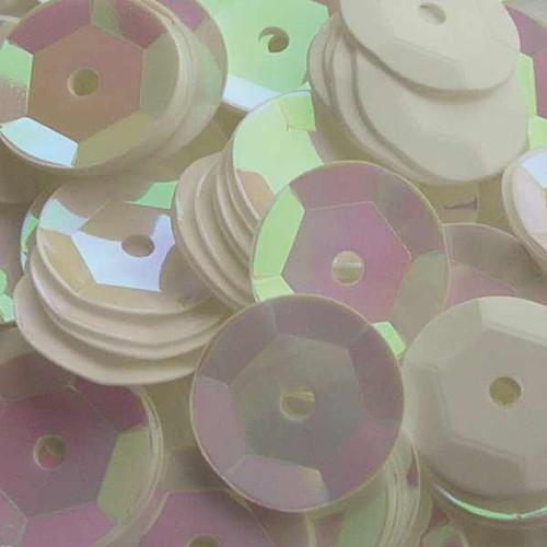 Mother of Pearl 6mm Sequins ( Sold in a individual pack)