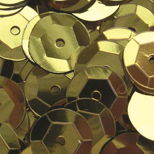 Gold 6mm Cup Sequins (Pack of 500 approx)