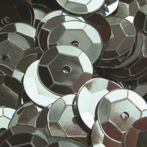 Silver 6mm Cup Sequins (Pack of 500 approx)