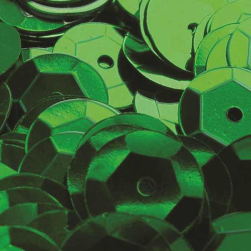 Green 6mm Cup Sequins (Pack of 500 approx)