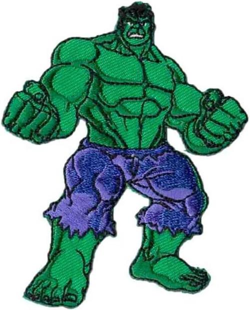 Hulk Super Hero Iron-on Sew-on Applique Motif