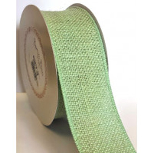 Sea Grass 50mm Burlap with Wired Edge Sold By The Metre