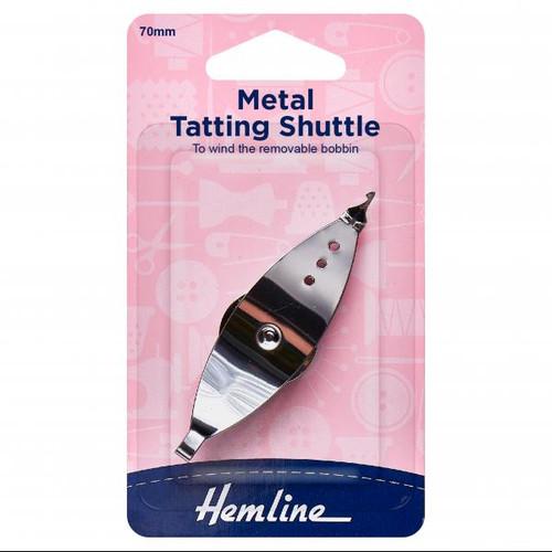 Metal Tatting Shuttle 70mm