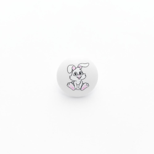 Bunny Buttons 15mm with a Shank ( Sold Individually)