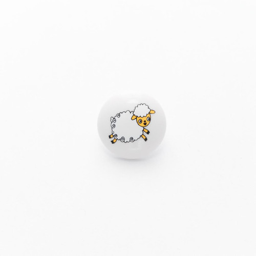 Sheep Buttons 15mm with a Shank (Sold Individually)