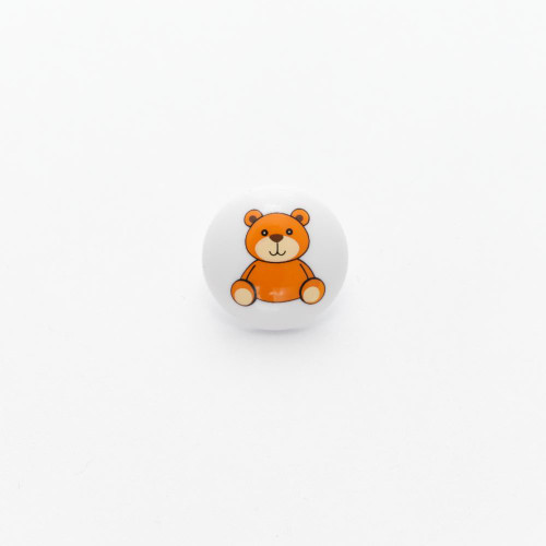 Teddy Bear -15mm with a Shank (Sold Individually)