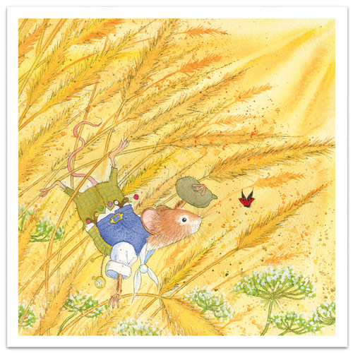 Hello Mr Mouse Greetings Card