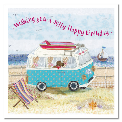 Birthday Camping Greetings Card