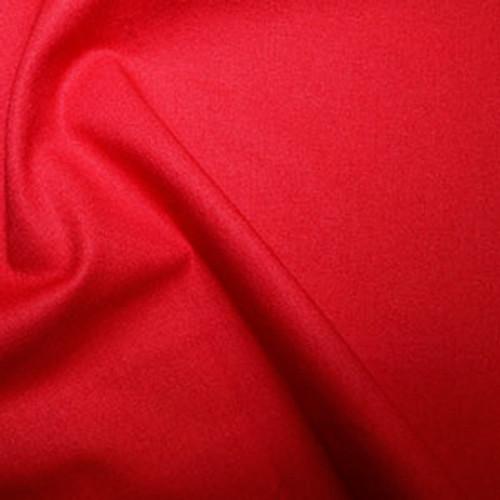 Scarlet Cotton  100% Cotton Fabric, 112cm/44in wide, Sold Per HALF Metre