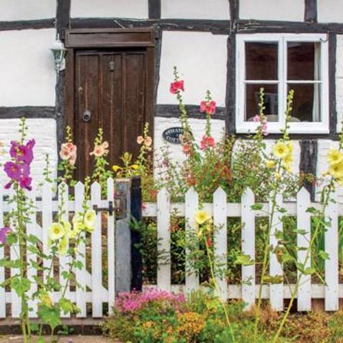 Cottage Garden Birthday Card