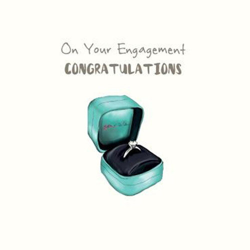 On Your Engagement (Ring) Greeting Card