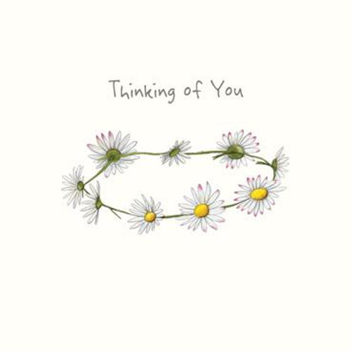 Thinking of You (Daisy Chain) Greeting Card