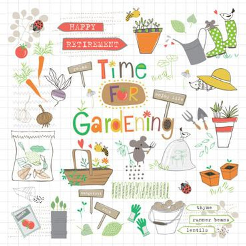 Time for Gardening Greeting Card