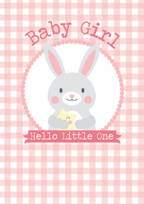 Baby Girl (Hello Little One) Greeting Card