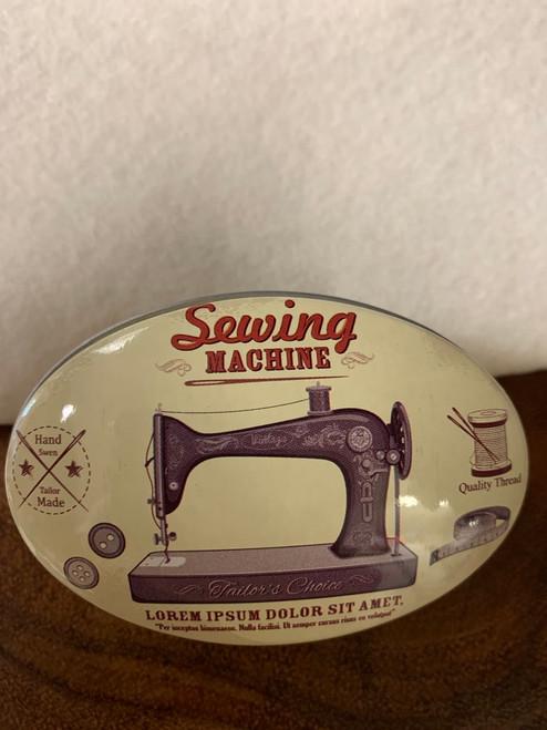 Retro Tin- Sewing Machine Design