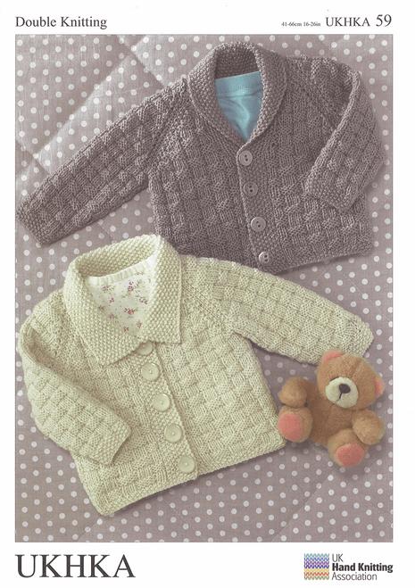 UKHKA 59 - Double Knitting Cardigans