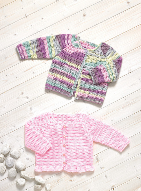 JB736 - Cardigan's - Crochet