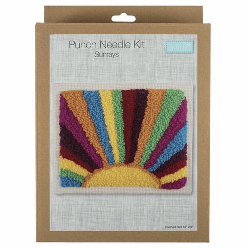 Punch Needle Kit -  Sunrays Design
