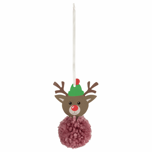 Pom Pom Decoration Kit - Christmas