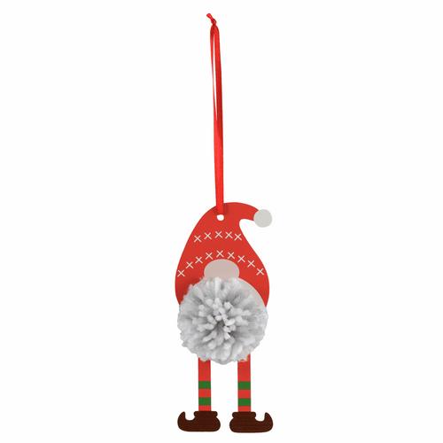 Pom Pom Decoration Kit - Christmas Gonk ( 1 pack)