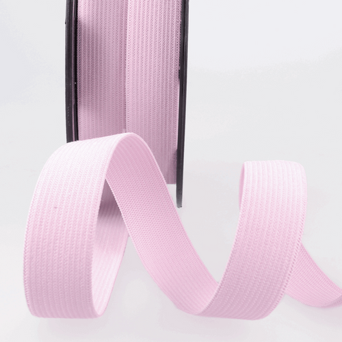 Elastic - 25mm in Pink (sold by the metre)