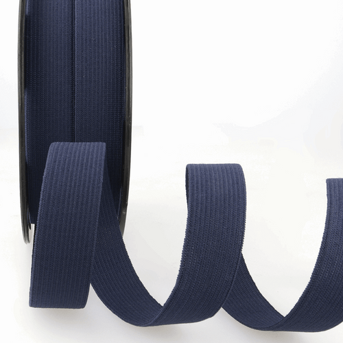 Elastic - 25mm in Navy (sold by the metre)