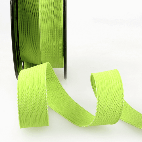 Elastic - 25mm in Anise Green (sold by the metre)