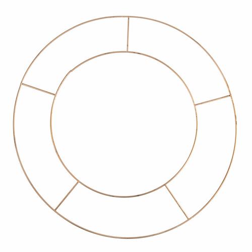 Wreath Base: Wire: 20.3cm/8 in
