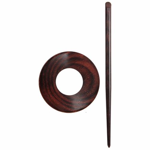 KnitPro - Shawl Pin Set - Orion Rose in wood