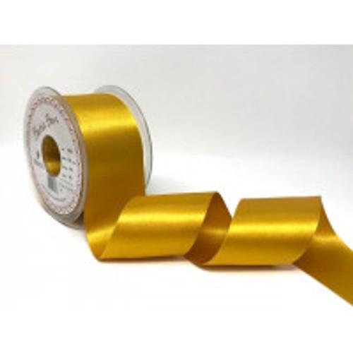 50mm 412 Topaz Double Satin Berisfords Ribbon ( Sold per Metre)